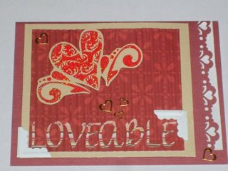 Loveable Valentine's Day Card