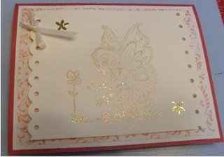 Pretty Fairy Card