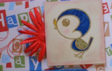 birdie-chalked