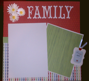 family-scrapbook-page